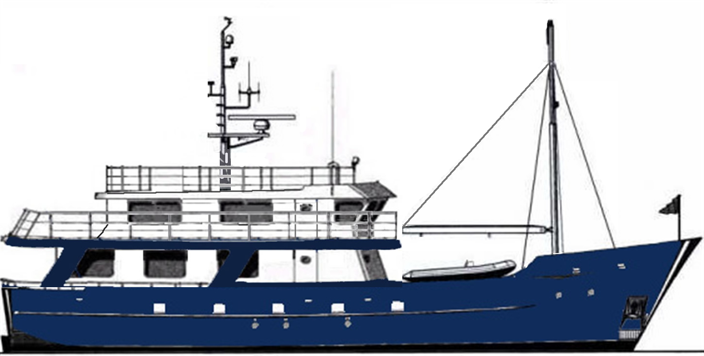 Ruby Expedition 65 House Aft Flybridge Deck