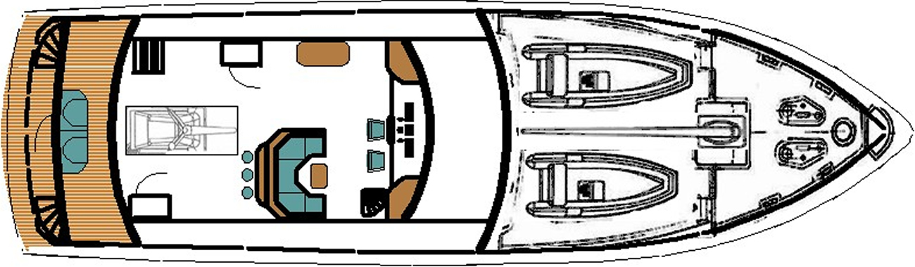 Ruby Expedition 65 House Aft Pilothouse Deck